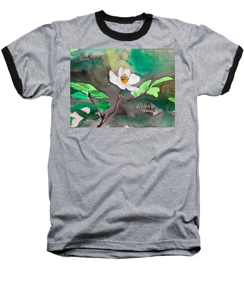 Multiflora Rosa Baseball T-Shirt