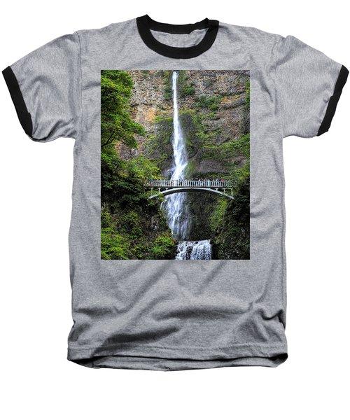 Multnomah Falls, Columbia River Gorge Baseball T-Shirt