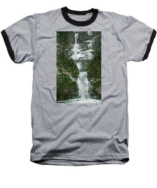Multnomah Falls Ice Baseball T-Shirt