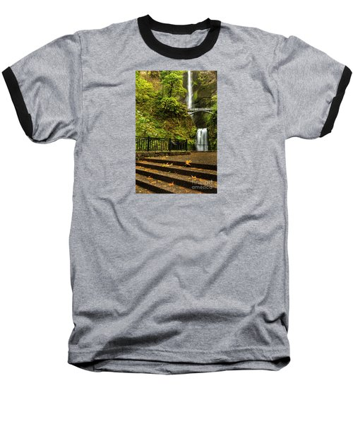 Multnomah Falls,oregon Baseball T-Shirt