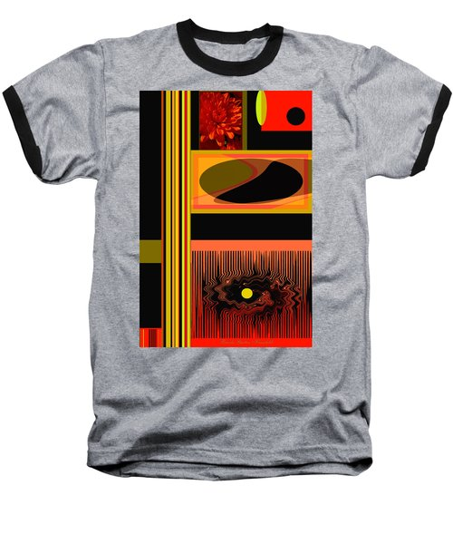 Mum Abstract 1 Baseball T-Shirt