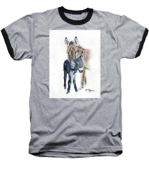 Mummy Donkey Baseball T-Shirt