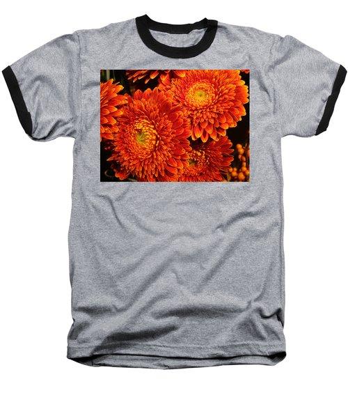 Mums In Flames Baseball T-Shirt