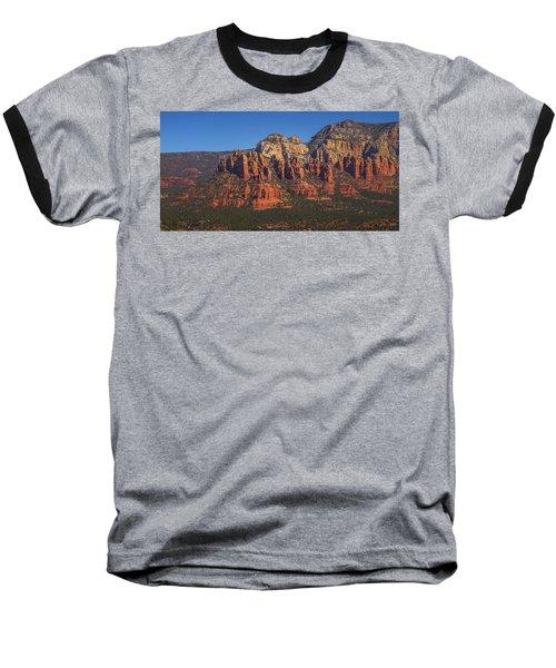 Munds Mountain Panorama Baseball T-Shirt