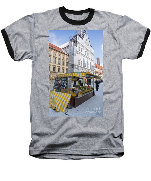 Munich Fruit Seller Baseball T-Shirt