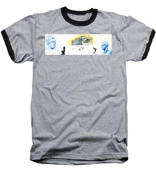 Mural Baseball T-Shirt