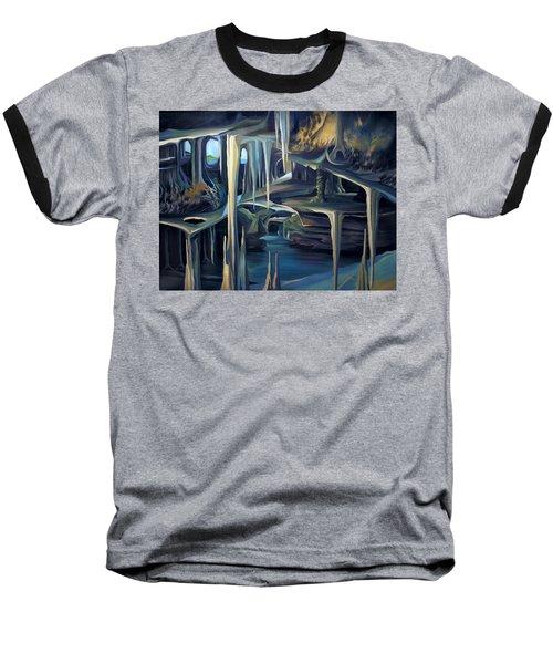 Mural Ice Monks In November Baseball T-Shirt