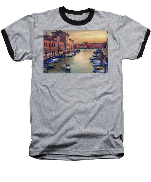 Murano Late Afternoon Baseball T-Shirt by Brian Tarr