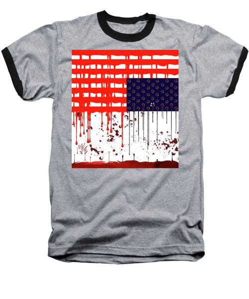 America In Distress Baseball T-Shirt