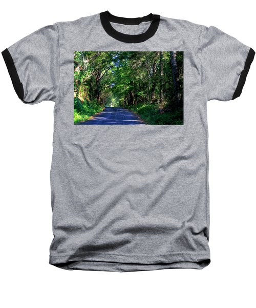 Baseball T-Shirt featuring the photograph Murphy Mill Road - 2 by Jerry Battle