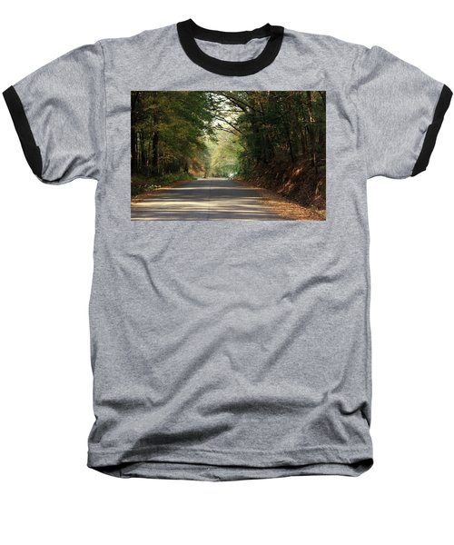 Baseball T-Shirt featuring the photograph Murphy Mill Road by Jerry Battle
