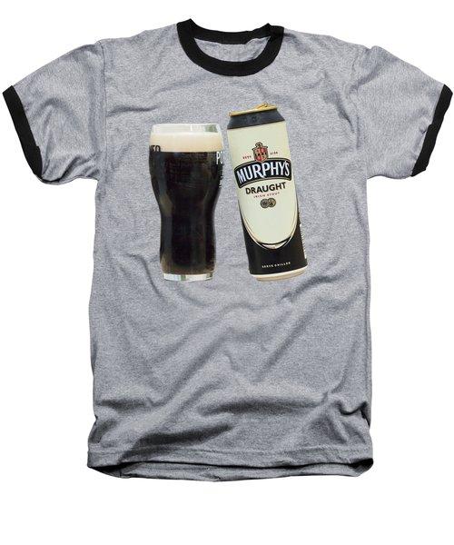Murphys Draught Baseball T-Shirt by Ericamaxine Price