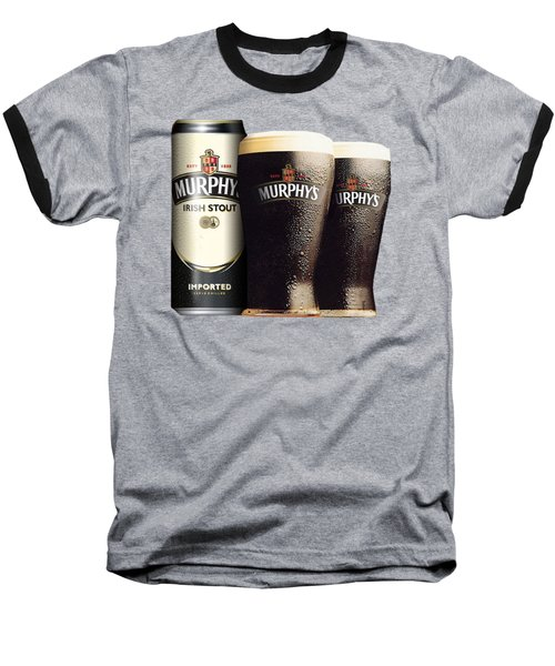Murphys Irish Stout 2 Baseball T-Shirt by Ericamaxine Price
