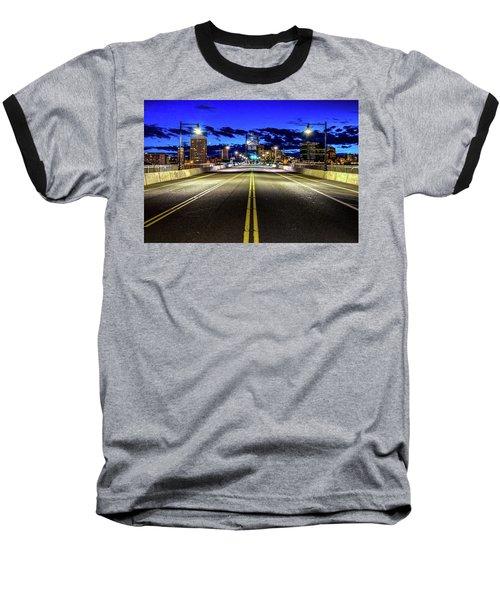 Murray Morgam Bridge During Blue Hour In Hdr Baseball T-Shirt