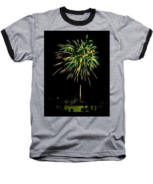 Murrells Inlet Fireworks Baseball T-Shirt