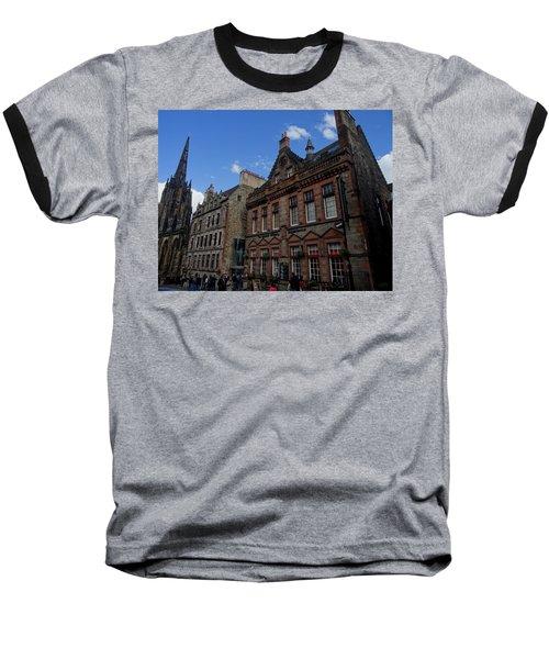 Museo Del Whisky Edimburgo Baseball T-Shirt by Eduardo Abella