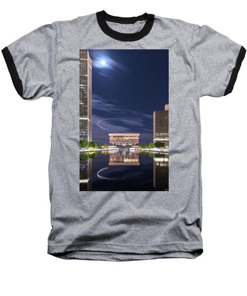 Museum Flyby Baseball T-Shirt