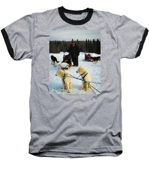 Musher Baseball T-Shirt by Timothy Bulone