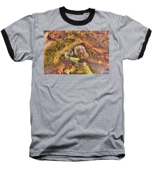 Mushpot Cave Baseball T-Shirt