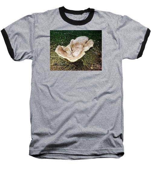Mushroom  1 Baseball T-Shirt by Melissa Messick