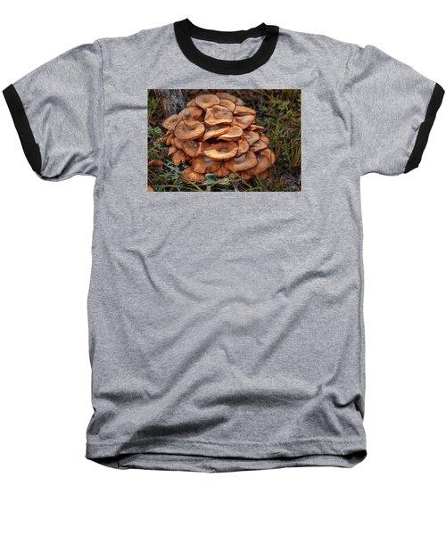 Mushroom Bouquet Baseball T-Shirt