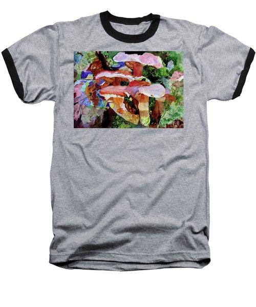 Mushroom Garden Baseball T-Shirt