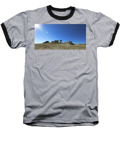 Mushroom Rocks Baseball T-Shirt