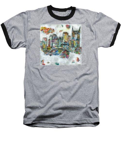 Music City Dreams Baseball T-Shirt by Kirsten Reed