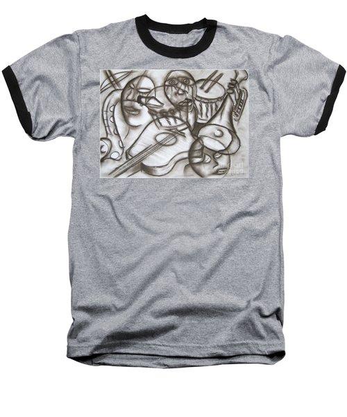 Music Dreams And Illusions Baseball T-Shirt