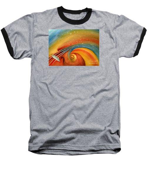 Music In The Spirit Baseball T-Shirt by Allison Ashton