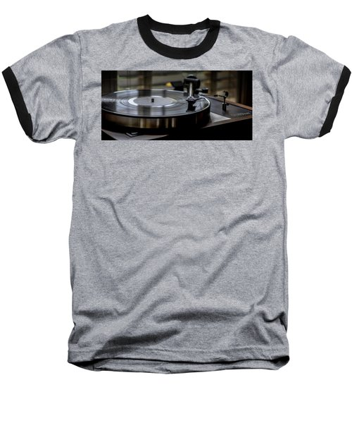Baseball T-Shirt featuring the photograph Music Maker by Stephen Anderson