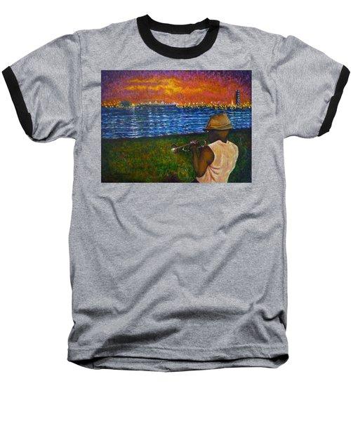 Music Man In The Lbc Baseball T-Shirt