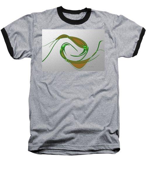 Music Takes Flight Baseball T-Shirt by Lenore Senior