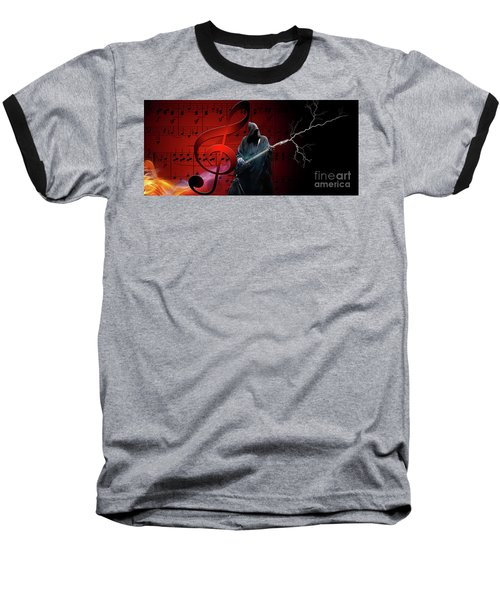 Music To Die For Baseball T-Shirt
