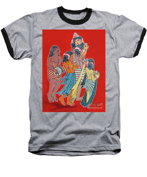 Musical Concert Baseball T-Shirt by Ragunath Venkatraman