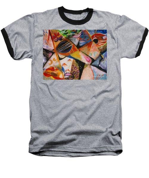 Musical Pastels Baseball T-Shirt