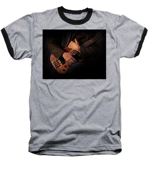 Musician's Hands Baseball T-Shirt by David and Carol Kelly