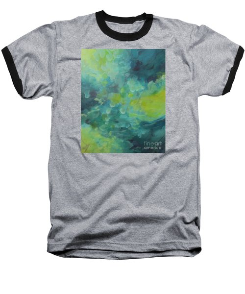 Baseball T-Shirt featuring the painting Musing 117 by Elis Cooke