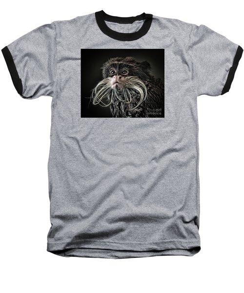 Mustache Monkey IIi Altered Baseball T-Shirt