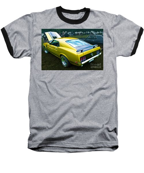 Mustang Boss 302 Baseball T-Shirt
