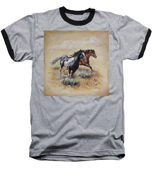 Mustang Glory Baseball T-Shirt