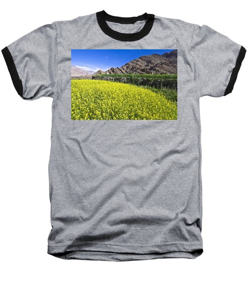 Mustard Field, Hemis, 2007 Baseball T-Shirt