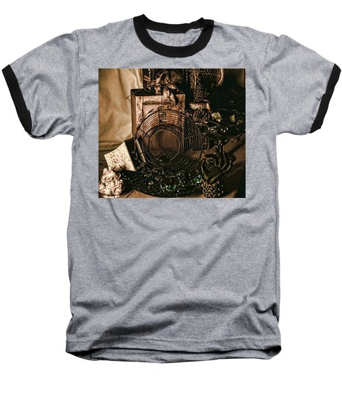 Muted Still Baseball T-Shirt