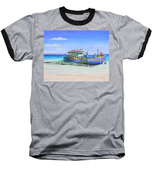 Mv Alice Mary Baseball T-Shirt by Patricia Piffath