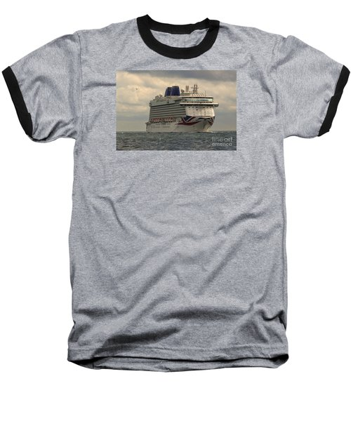 Mv Britannia 2 Baseball T-Shirt