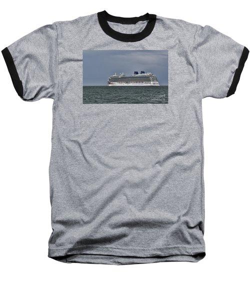 Mv Britannia 4 Baseball T-Shirt by David  Hollingworth