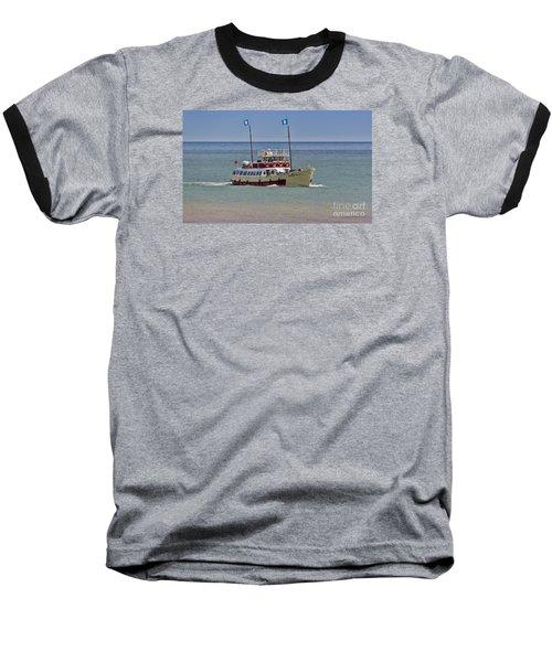 Mv Yorkshire Belle Baseball T-Shirt by David  Hollingworth