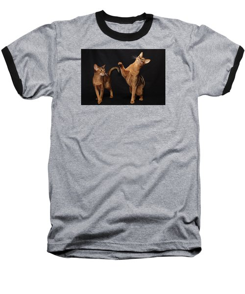 Baseball T-Shirt featuring the photograph My Abys by Gary Hall