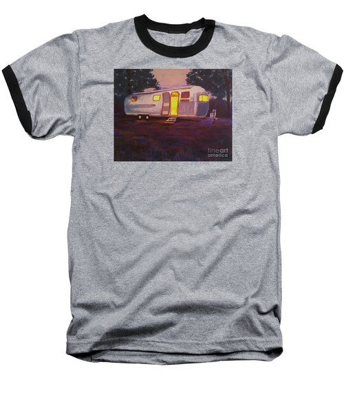 My Airstream Dream II Baseball T-Shirt by Suzanne McKay