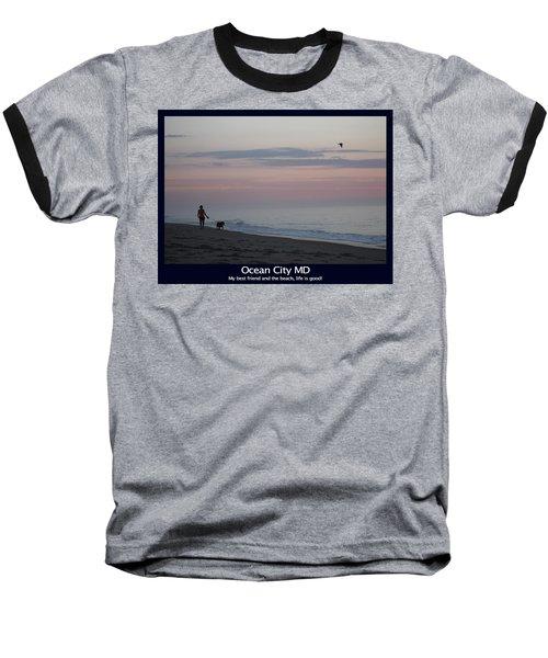 My Best Friend And The Beach Baseball T-Shirt